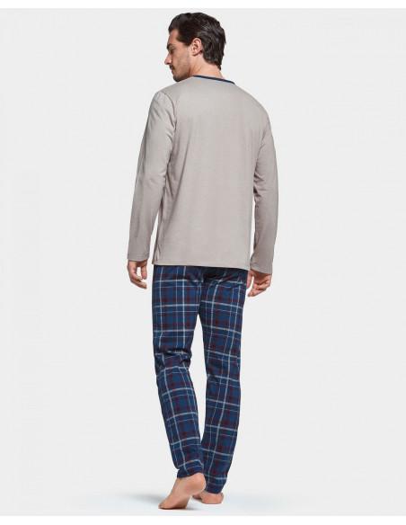 Pyjama hiver homme Impetus, pantalon écossais